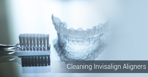 Cleaning Invisalign Aligners
