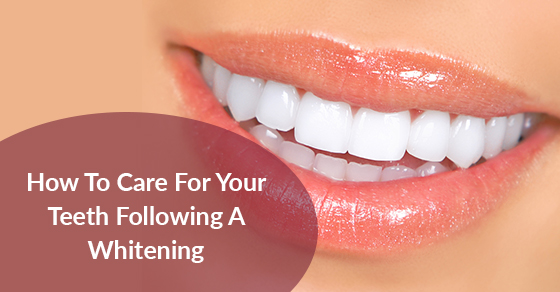 Post Teeth Whitening Care Tips
